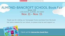 Almond-Bancroft 2019 Book Fair