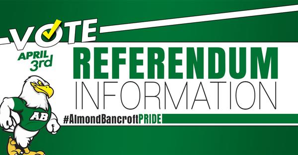 2018 Almond-Bancroft Referendum Information button